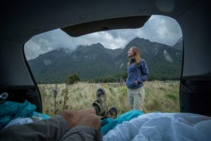 camping in your car
