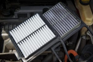 changing car air filter
